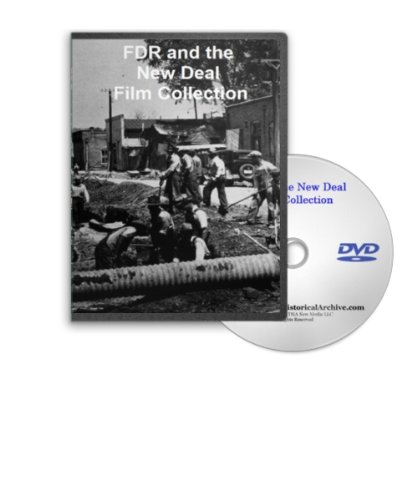FDR, WPA and the New Deal - Rebuilding America Film Collection on DVD - WPA, NHA, NRA, SSA (Collection Ssa)