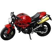 Alaojie Simulation Motorcycle Model Toy 1:18 Scale Motorbike