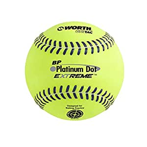 Worth Super Platinum Dot Extreme Batting Practice 12