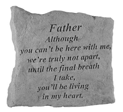 Kay Berry- Inc. 15820 Father Although You Can-t Be Here - Memorial - 5.25 Inches x 5.25 Inches