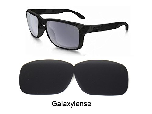 Galaxy Replacement Lenses For Oakley Sliver Sunglasses Black Polarized by Galaxylense