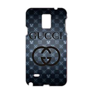 Customized Gucci Logo Phone Case 3D Plastic Phone Case for Samsung Galaxy Note 4 Gucci Logo