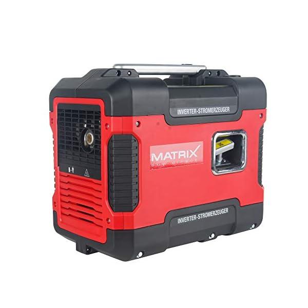 41SgRlPypKL Matrix Inverter Stromgenerator mit USB, Benzin leise, 4 takt, 2000 Watt, für Camping und Garage