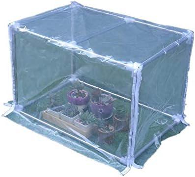ビニール温室温室ハウスア絶縁ネットカバー防雨遮熱多肉植物防風温室用フラワースタンド家庭菜園、庭、トマトの植え付けなどに適していますにじゅん0924(Color:1,Size: 120x30x30cm)