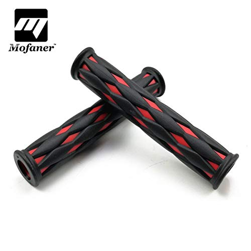 Wincom Dishman Automobiles & Motorcycles Universal Motorcycle Brake Clutch Lever Cover Handgrip Guard Handle Grips Fit Sportbike Streetbike Racing Riding for Yamaha - (Color: Red) ()