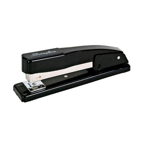 Large Product Image of Swingline Stapler, Commercial Desk Stapler, 20 Sheets Capacity, Black (S7044401)