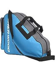 Sherwood Schaattas met hengsels, inliner-tas, ijshockey-bag met ritssluiting en praktische vakken, incl. verstelbare draagriem, tas voor ijshockeyschaatsen