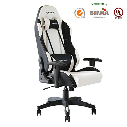 Ewin Gaming Chair With Adjustable Armrest And Backrest