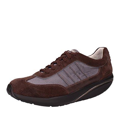 Camoscio Grigio 42 MBT Sneakers Sneakers Uomo Marrone Tessuto EU MBT w0qxPxv8