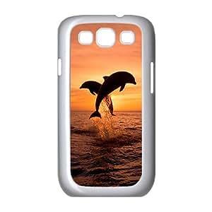 ALICASE Diy Back Case Dolphin For Samsung Galaxy S3 i9300 [Pattern-6] wangjiang maoyi