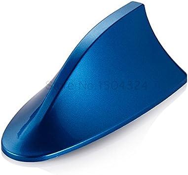 Antena de aleta de tiburón para coche, señal en blanco para ...