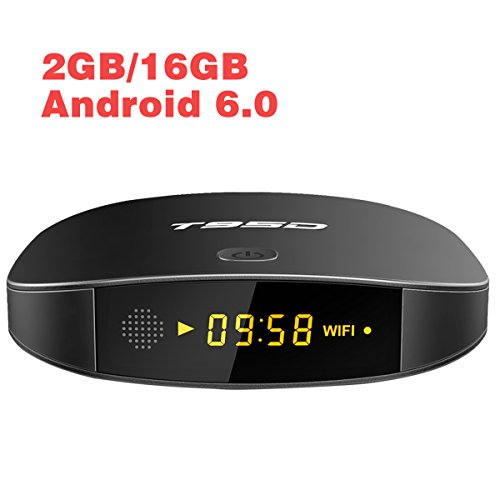 Series Wireless Lan Controller (Android 6.0 TV Box 2GB RAM 16GB ROM T95D Media Player with 4K Full HD WiFi Bluetooth HDMI 2.0 Ethernet)