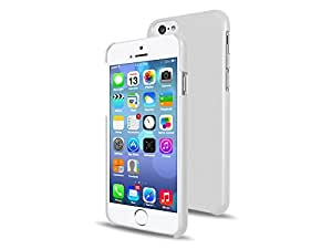 """iPhone 6 Case, Rubberized Polycarbonate (PC) Hard Case for iPhone 6 (4.7"""") (White)"""