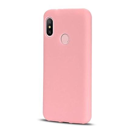 CoqueCase Funda Xiaomi Redmi Note 5 Pro Silicona Suave Flexible Antigolpes Ultrafina Goma Ultra Delgado Caso Color Cubierta Protector Bumper Case para ...