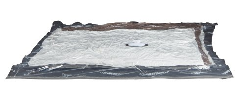 Compactor Clear Vacuum Storage Bags, Set of 2