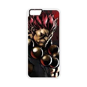 iphone6 4.7 inch Phone Case White Street Fighter Akuma WE9TY664535