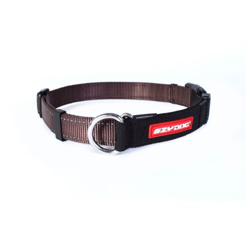 Ezydog Checkmate Collar, Large, Chocolate