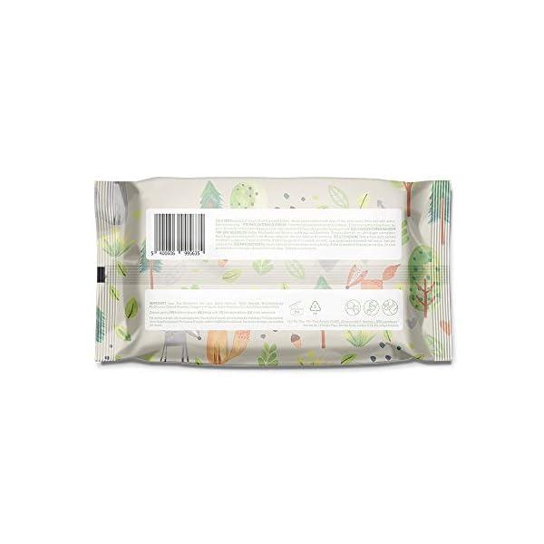 Marchio Amazon - Mama Bear Fresh Salviette umidificate per bebè – 18 confezioni (1008 salviette) 3