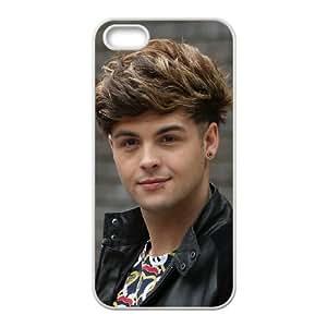 Caso Union J 004 iPhone 5 5S cubierta de la caja blanca del teléfono celular cubierta EVAXLKNBC05242