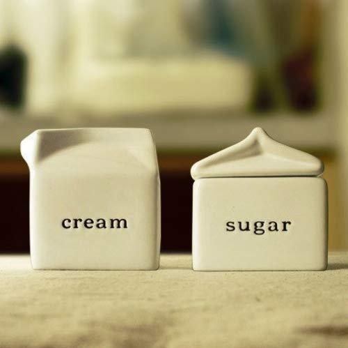 Kerchair Creamer and Sugar Bowl Set -