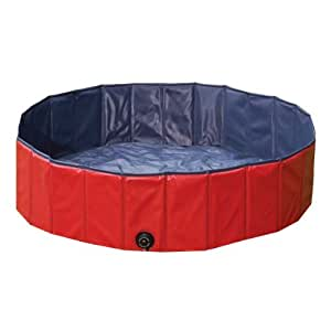 Guardian Gear Polyvinyl Chloride Large Dog Pool, Red/Blue