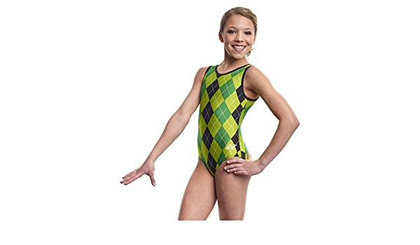 dde1a4f704c3 Alpha Factor Charms of Luck Leotard Green Child Medium  Amazon.ca ...