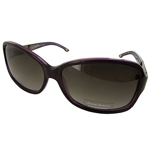 Tommy Bahama Foxy Moxy Sunglasses Plum Pearl Frame Polarized Grey Lenses Size - Bahama Tommy Sunglasses