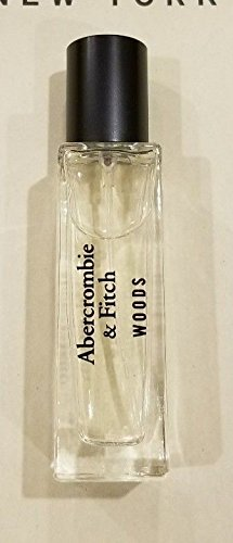 Abercrombie & Fitch Mens WOODS Cologne 0.5 Mini 15, used for sale  Delivered anywhere in USA
