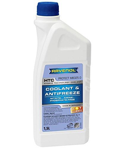 Ravenol J4D2022-2 Coolant Antifreeze - HTC Hot Climate MB 325.0, VW TL 774-C (G11) (1.5 Liter) by Ravenol