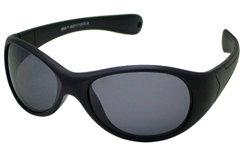 Coolsome Kids Rubber Flexible Aviator Polarized Sunglasses Fit for Age 3 -10 Years - Broken Fix Sunglasses