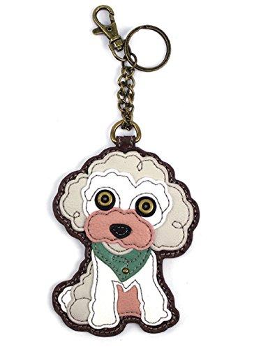Chala Key Fob/Coin Purse - Poodle