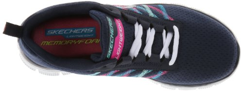 Skechers en Something sports Appeal Chaussures Fun Bleu de Flex Nvmt femme salle x0xwZqg