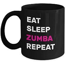 PAVULI - EAT SLEEP ZUMBA Mug - Gift for Zumba Lover, Gift for Zumba Instructors, Zumba Mug, Zumba Instructor Gift, Zumba Class Gift, Zumba Coffee Mug, MUG 11oz