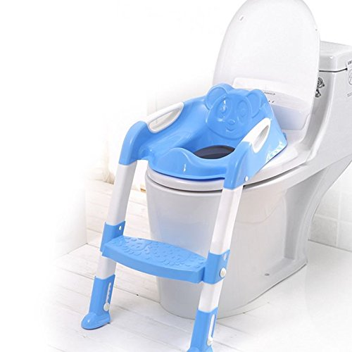 Toddler ladder for toilet