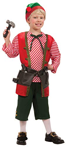 Forum Novelties Toy Maker Elf Child's Costume, Medium