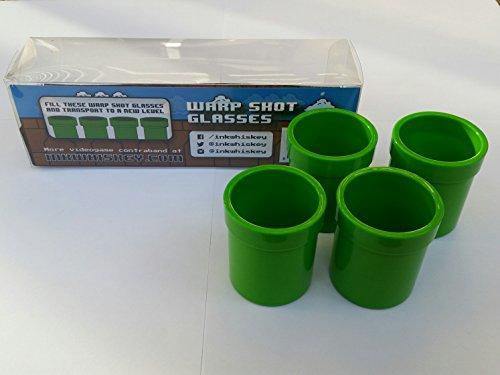 Warp Shot Glasses (4PK)