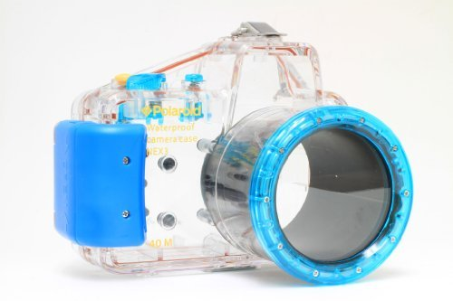 Stingray Underwater Housing - Polaroid Dive Rated Waterproof Underwater Housing Case For Sony Alpha NEX-5N Digital Camera WITH A 18-55mm Lens