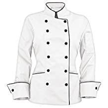 Long Sleeves stylish Women's Ladies Chef's Coat Jackets