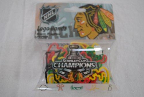 NHL Chicago Blackhawks Stanley Cup Champions Logo Bandz