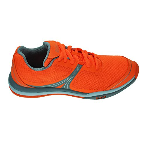 Bloch Elemento Danza 925 Sneaker Nuevo Naranja rAqRTr