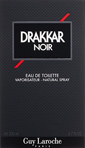 Drakkar Noir By Guy Laroche For Men. Eau De Toilette Spray 6.7 Ounces