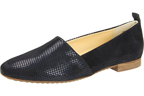 Paul Green Women's 4243-209 Loafer Flats Blue UaUyUm