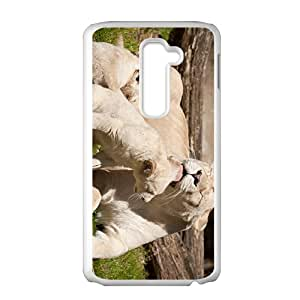 Lions Big Mouth Custom Protective Hard Phone Cae For LG G2