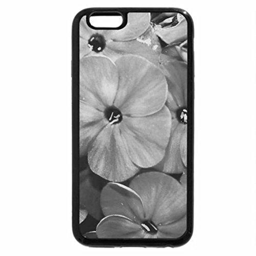 iPhone 6S Case, iPhone 6 Case (Black & White) - Fiore Flowers