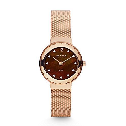 Skagen Mesh Ladies (Skagen 456SRR1 Ladies Mesh Rose Gold Watch)