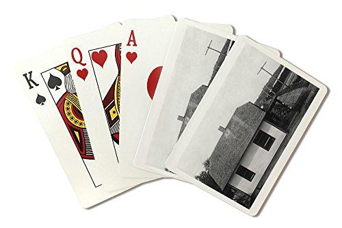 louisville-nebraska-view-of-wagon-bridge-toll-house-playing-card-deck-52-card-poker-size-with-jokers