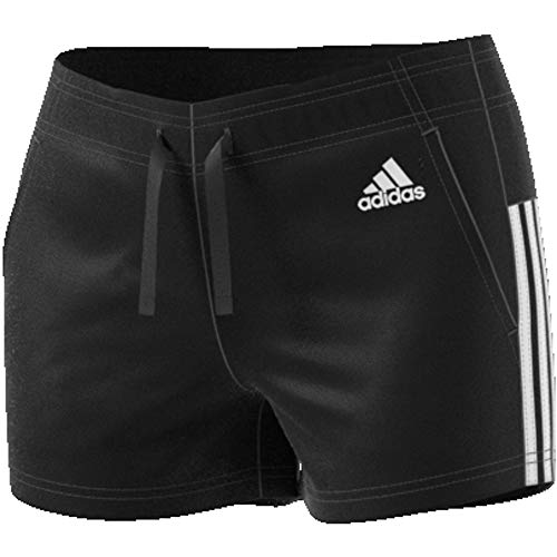 Adidas Noir Nero Short Ess nero bianco Femme bianco 3s vPHPqIwr