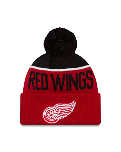 NHL Detroit Red Wings Ne15 Sport Knit Beanie, One Size, Red