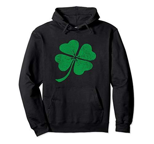 (Green clover St Patricks day Hoodie for men, women &)