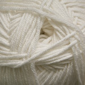 (Cascade Anchor Bay Cotton/Superwash Merino Wool Blend - White (#03))